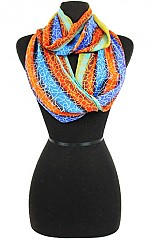 Infinity Scarves Color full Swirls