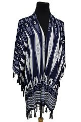 Missoni Arrowhead Printed Open Silhouette Kimono Cover Up