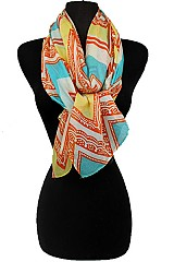 Chevron Multicolor Soft Scarves.