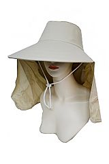 Fresh Basic Outdoor Hat Visor Styled With Detachable Neck And Face Cover