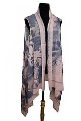 Marilyn Monroe Fashion Icon newspaper Print Style Softness Kimono