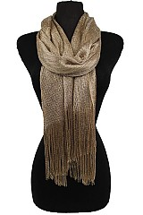Metallic Accents Dressy Shawl & Scarves