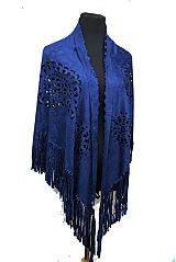 Full On Paisley Laser Cut Soft Hand Shawl Wrap