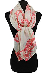 Big Butterfly Pattern Soft Scarves
