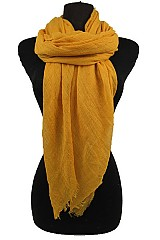 Soft Gauze Scarves & Wraps