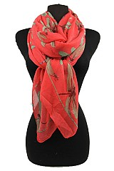Dragonfly Pattern Soft Scarves