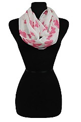 Butterfly design Super Softness Mini Infinity scarf