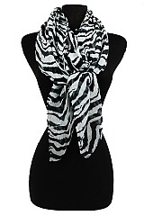 Animal Print softness Scarf