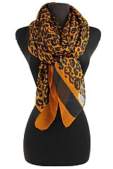 Animal Pattern Soft Scarves & Wraps