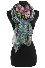 Color Full Funky Pattern Scarves & Wraps