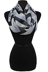 Chevron&Geometric Soft Infinity Scarves