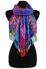 Floral Multicolor Super Soft Pashmina & Shawl