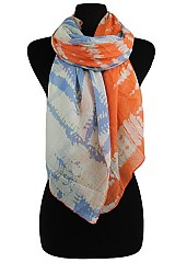 Tye Dye Scarves & Wraps