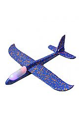 Light Up Soft Foam Super Durable Hand Glider Plane Switch Able Boomerang Toy