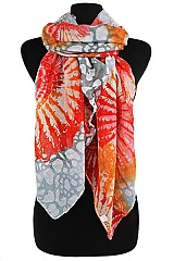 Sparkly Radiant Sun Flower Pattern Scarves & Wraps