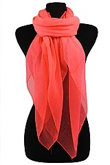 Neon Color Soft Scarves & Wraps