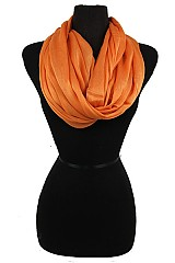 Silk feel Super Softness Infinity Scarf