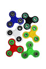 Double Colored Plated Ring Hand Spinner Fidget Toys