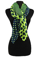 Striped/Polka Dot Scarves & Wraps