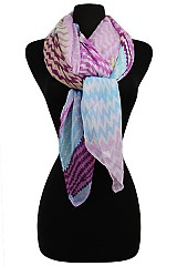 Multicolor Missoni Pattern Scarves & Wraps