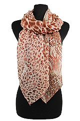 Funky Animal Pattern Softness Scarf