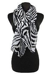 Animal Pattern Softness Scarf