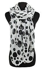 Polka Dot design Softness Scarf