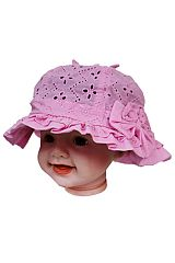 Baby Floral Lace Softness Bucket Hat