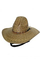 Pinched Crown Authentic Western Rodeo Cowboy Hat