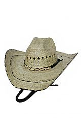 Silver Diamond Metal Stencil Pattern Western Rodeo Cowboy Hat