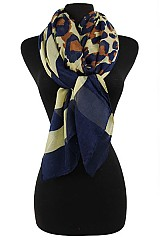 Striped Leopard Pattern Scarves & Wraps