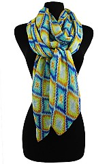 Kaleidoscope Pattern Soft Scarves