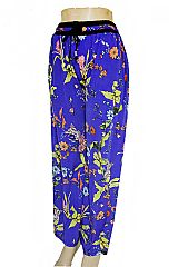 Lily & Daisy Flower Printed Palazzo Pants with Pockets