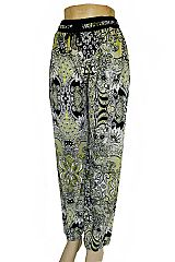 Boho & Chic Styled and Floral Printed Palazzo Pants with Pockets
