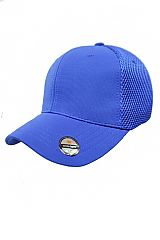 Solid Flex Fit Superior Comfort Full Mesh Crown Baseball Cap
