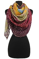 Tribal Colorful Super Soft Scarves & Wraps