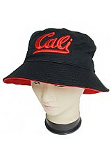Cali Cursive Embroidered Bucket Hat