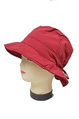 Packable Rain Bucket Hat For Women