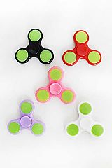 Reflective Two Tone Fidget Spinner