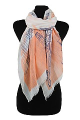 Monumental City Design Soft Scarves & Wraps