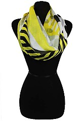 Multiple Geometric Pattern Infinity scarves