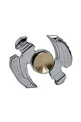 Arch Light Silver Metal Fidget Toy Hand Spinner