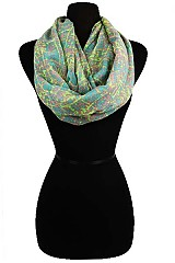 Cracker Pattern Soft Infinity Scarves