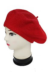 Vibrantly colored Fashion Classic Wool Beret