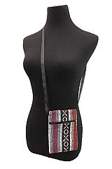Petite Navajo Boho Printed Cross Over Body Bag