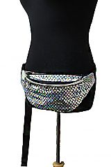 Mermaid Pattern Waist Festival Fashion Fanny Pack