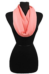 Super Softness Plain Infinity Scarf