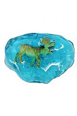 Gel Glitter Jelly With Novelty Animal Figurine