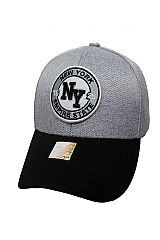 NY Gross Grain Mixed Tone Baseball Cap
