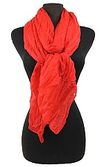 Plain Regular soft scarf